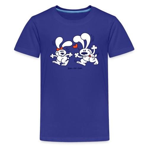 Hot Bunnies - Teenage Premium T-Shirt