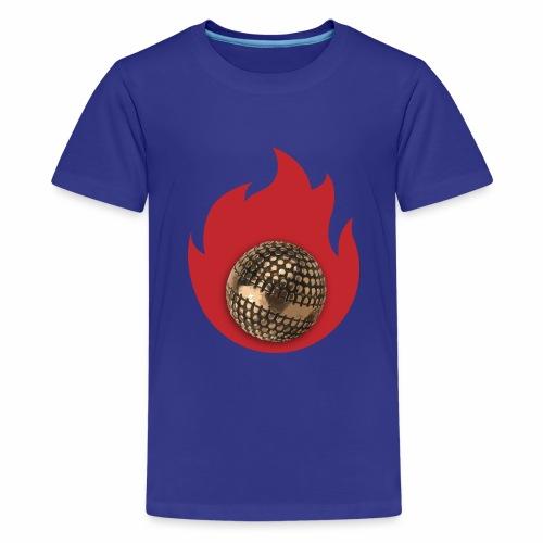 petanque fire - T-shirt Premium Ado