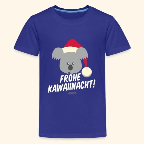 Ugly Christmas Kawaiinacht für Weihnachten - Teenager Premium T-Shirt