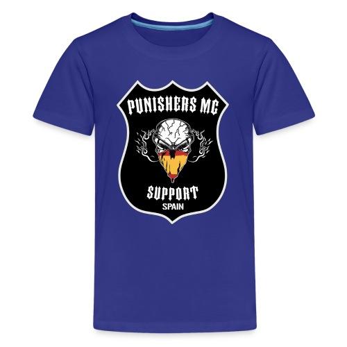 punishers support - Camiseta premium adolescente