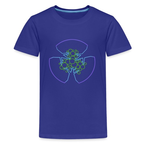 Drei Bäume, blau-grün - Teenager Premium T-Shirt