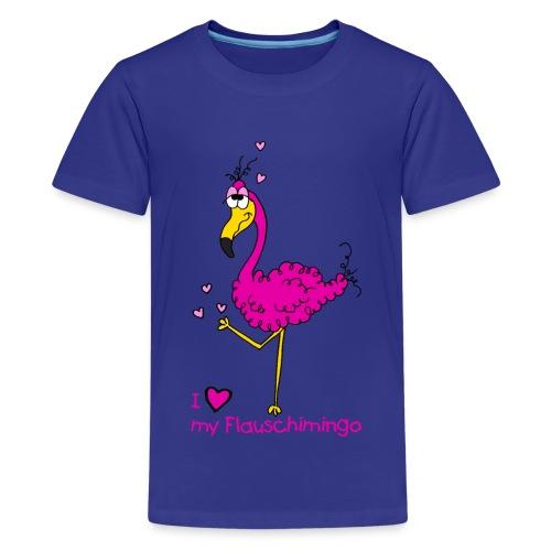I love my Flauschimingo - Teenager Premium T-Shirt