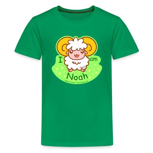 I am Noah - Teenage Premium T-Shirt