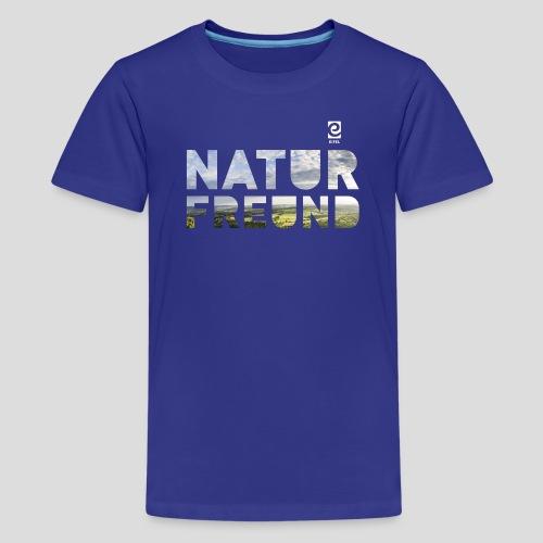 Naturfreund - weiß - Teenager Premium T-Shirt