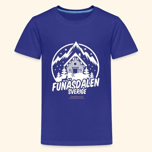 Funäsdalen Sverige Ski Resort T Shirt Design - Teenager Premium T-Shirt
