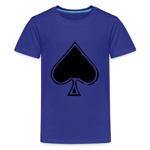 Spade - Teinien premium t-paita