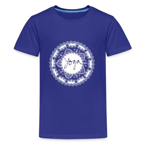 YOGA MORNING - Premium T-skjorte for tenåringer