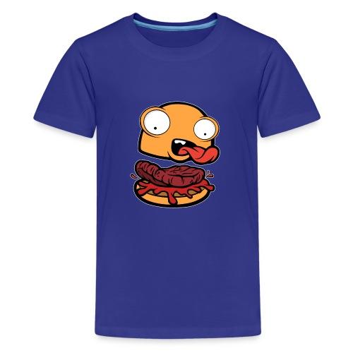 Crazy Burger - Camiseta premium adolescente