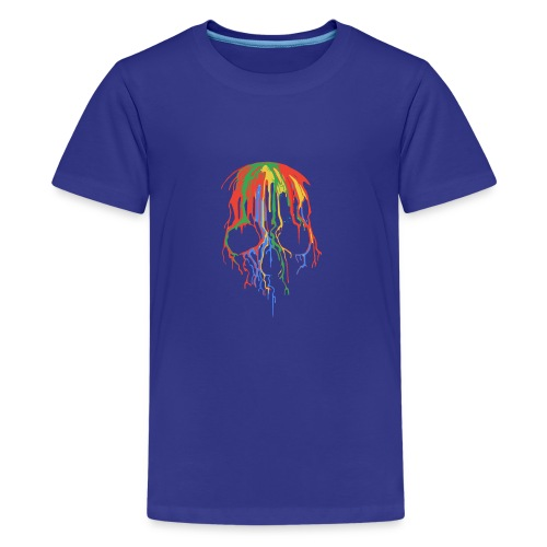Skull and Colours - Camiseta premium adolescente