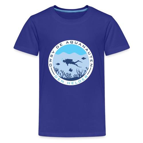Logo OWSV de Aquanauten - Teenager Premium T-shirt