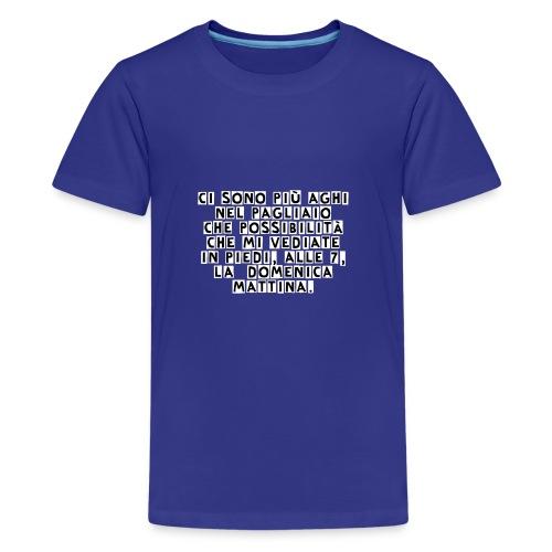 AgoNelPagliaio - Maglietta Premium per ragazzi