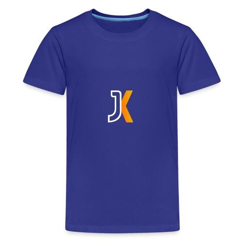 Logo JaKKzy - Maglietta Premium per ragazzi