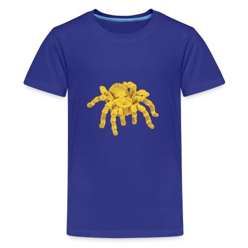 Spinne Gold - Teenager Premium T-Shirt