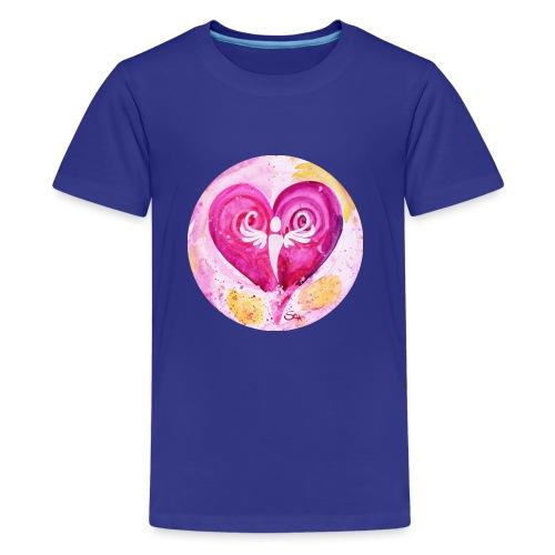 Engel des LiebesGlücks - Teenager Premium T-Shirt