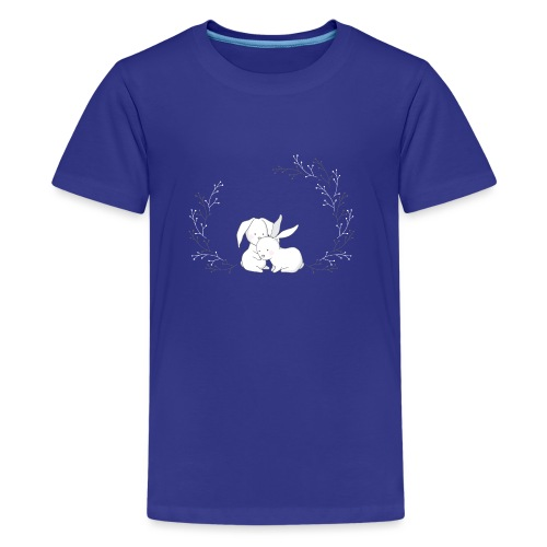 Cute Rabbits - Teenager Premium T-Shirt