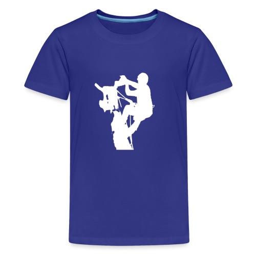 Baumpfleger Arborist - Teenager Premium T-Shirt