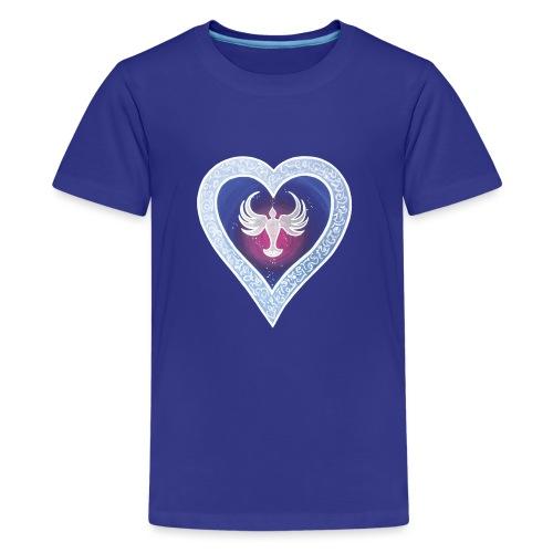 HerzEnergie Frieden - Sonja Ariel von Staden - Teenager Premium T-Shirt