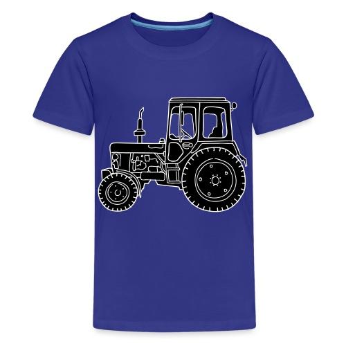 Traktor Landwirtschaft 2 - Teenager Premium T-Shirt