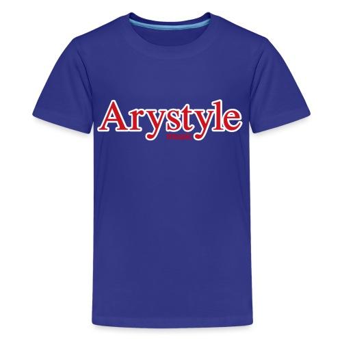Arystyle Rouge Contour B - T-shirt Premium Ado