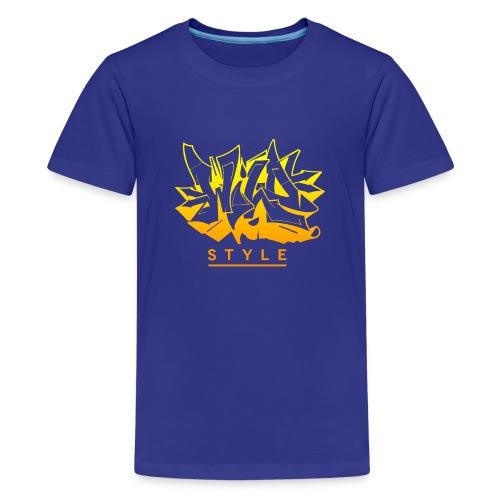 Wild Style Burner - Teenager premium T-shirt