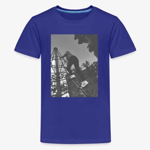 Banx Black & White design - Teenage Premium T-Shirt
