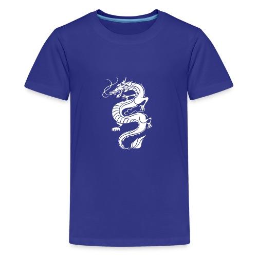 Dragone - Maglietta Premium per ragazzi