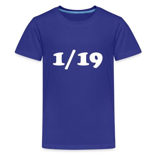 1/19 - Teinien premium t-paita
