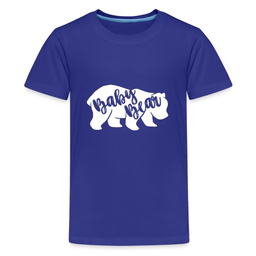 Baby Bear - für Eltern-Baby-Partnerlook - Teenager Premium T-Shirt