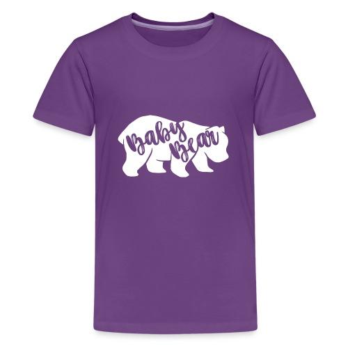 Baby Bear - für Eltern-Baby-Partnerlook - Teenager Premium T-Shirt
