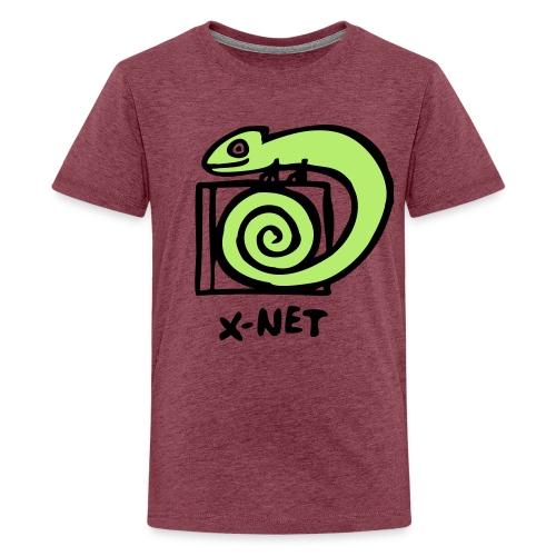 xnet vektor cham - Teenager Premium T-Shirt