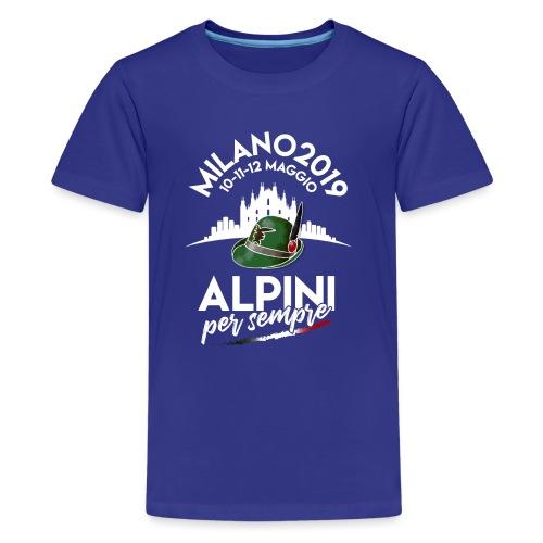 Alpini Per Sempre - Maglietta Premium per ragazzi