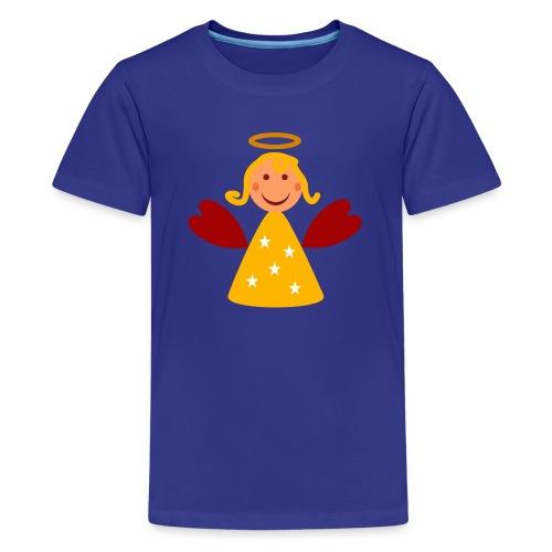 Schöner Engel mit Heiligenschein Süßes Engelchen - Teenager Premium T-Shirt