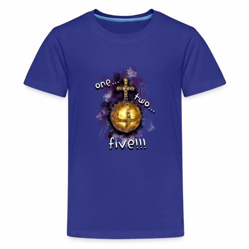 holy hand grenade of antioch - Camiseta premium adolescente