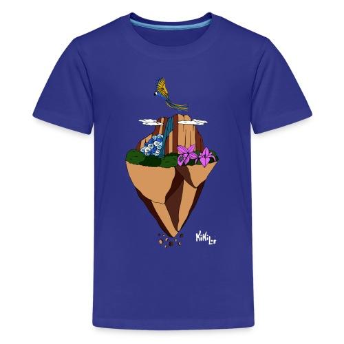 Salto Ángel flotante - Camiseta premium adolescente