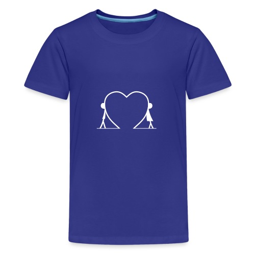 Direzioni diverse, unico amore... WHITE - Maglietta Premium per ragazzi