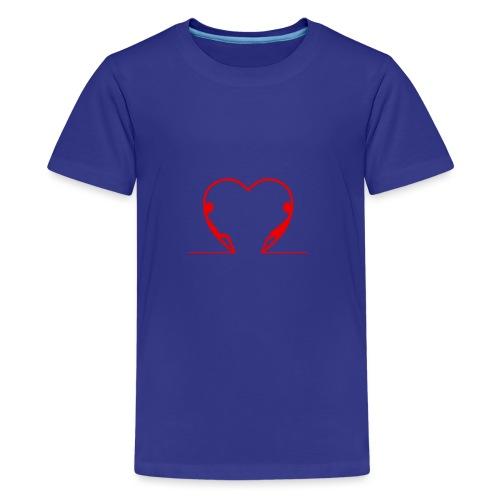 Guardami intensamente... RED - Maglietta Premium per ragazzi