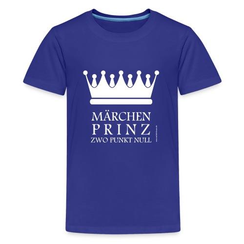 Märchenprinz zwo punkt null Boys - Teenager Premium T-Shirt