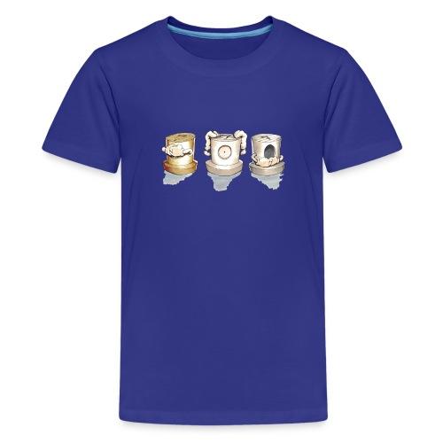 see no evil ver.0.3 Rasmus Balstrøm - Teenager premium T-shirt