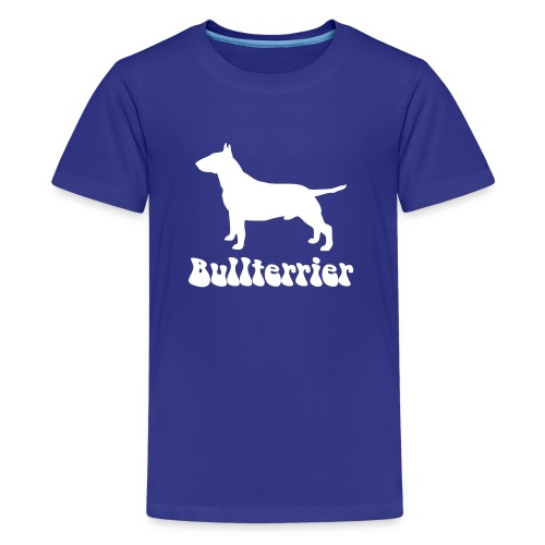 Bullterrier Logo - Teenager Premium T-Shirt