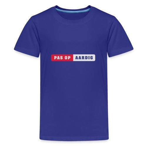 05 diap on black - Teenager Premium T-shirt