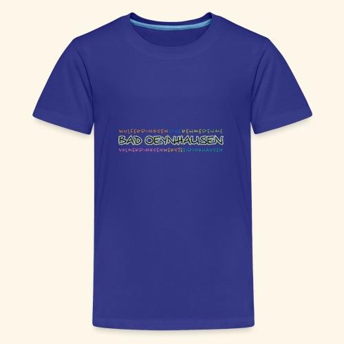 Colorful Oeynhausen - Teenager Premium T-Shirt