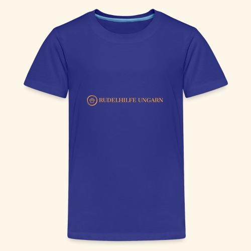 Rudelhilfe Logo - Teenager Premium T-Shirt
