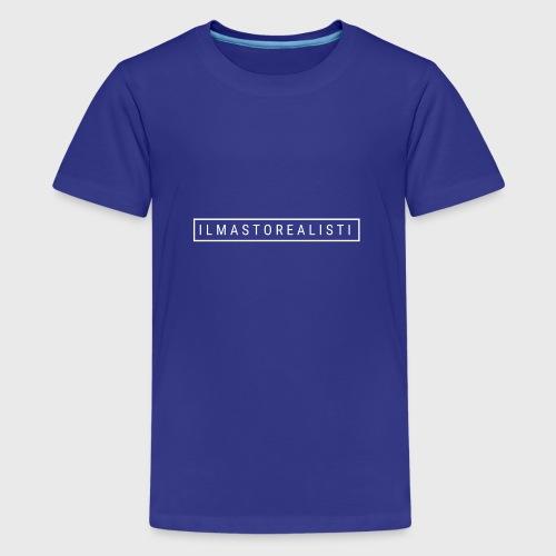 Ilmastorealisti - Teinien premium t-paita