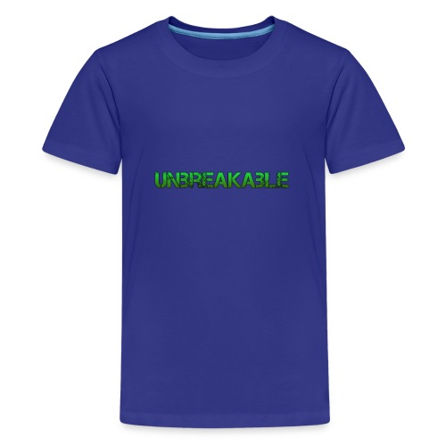 Unbreakable - Teenager Premium T-shirt