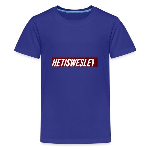 HetIsWesley Name - Teenager Premium T-shirt