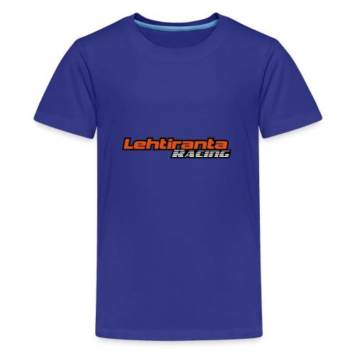 Lehtiranta racing - Teinien premium t-paita