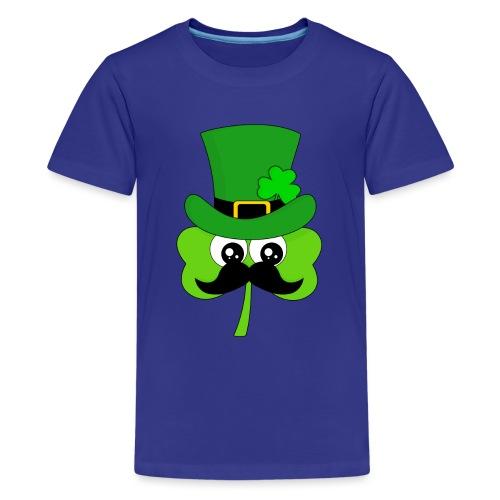 Clover Hipster - Teenager Premium T-Shirt