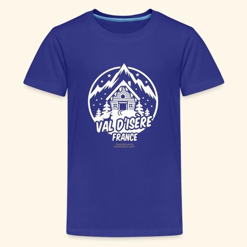 Val d' Isère Station de Ski France - Teenager Premium T-Shirt