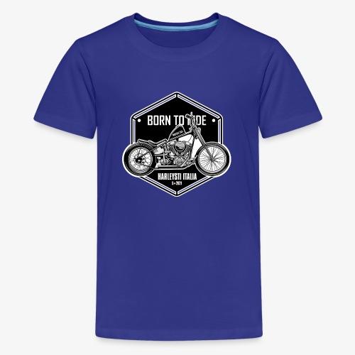 Born to Ride - Vintage motorbike - Maglietta Premium per ragazzi