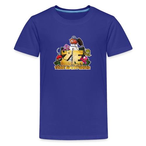 zeTerraAventurier - T-shirt Premium Ado